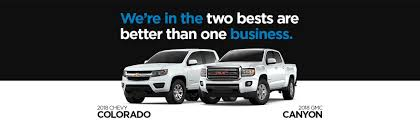 Chevrolet Colorado And GMC Canyon | GM Fleet Mid-Size Trucks
