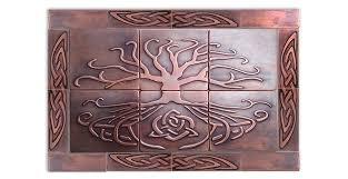 Copper Tiles For Backsplash by Copper Tiles My Copper Craft