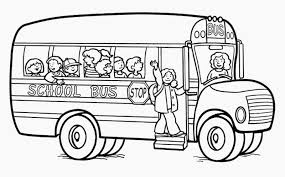 Bus The Car Coloring Pages