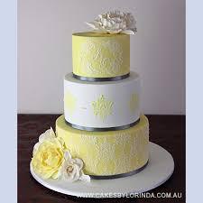 Yellow Wedding Cakes 303 Best 3 Yellow Wedding Cakes Pinterest Yellow