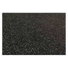 Rubber Floor Tile Black Brava 10090078