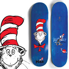 100 Ccs Decks CCS Almost Skateboards Dr Seus They Did Something
