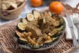 apprendre a cuisiner algerien ragoût de courgettes cuisine algérienne les joyaux de sherazade