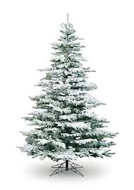 Christmas Tree Flocking Spray Uk by 5 U0027 Medium Flocked Noble Christmas Tree Olore Home Amazon Co Uk
