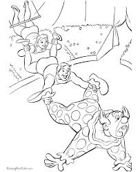 Circus Coloring Pages For Kid