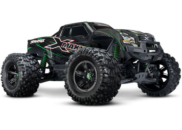 Traxxas 8s X-maxx 4wd Brushless Electric Monster RTR Truck Model Toy - Green