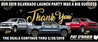100 Dealers Truck Equipment East Pat OBrien Chevrolet In Willoughby Hills Serving Mentor