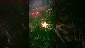 3ft Christmas Tree Fibre Optic by Christmas Tree World Frosted Led Close Up Youtube