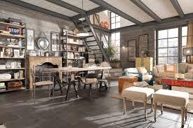 Industrial Modern Living Room Design Home Design Mid Century