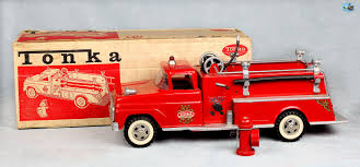 Original 1950s Vintage Tonka Pressed Steel Fire Engine Truck Toy W ... Fire Trucks Minimalist Mama Amazoncom Tonka Rescue Force Lights And Sounds 12inch Ladder Truck Large Best In The Word 2017 Die Cast 3 Pack Vehicle Toysrus Department Toygallerynet Strong Arm Mighty Engine Funrise Vintage Donated To Toy Museum Whiteboard Plastic Ambulance 3pcs Maisto Diecast Wiki Fandom Powered By Wikia Toys Games Redyellow Friction Power Fighter Red Aerial Unit 55170