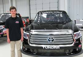 100 Truck Series Drivers Harrison Burton To Make Debut In Fall Martinsville Race
