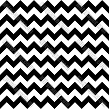 Black And White Chevron Digital Paper