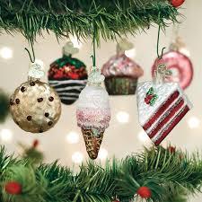 Mini Dessert Set Ornaments Christmas Ornaments TheHolidayBarncom