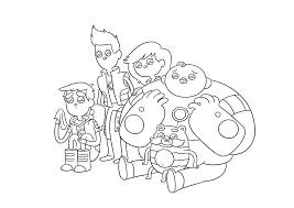 Book Coloring Pages Catbug Image Bw C A Warriors Impossibear Png