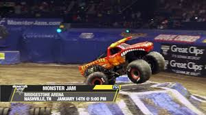 100 Monster Trucks Nashville Jam Jam On FS1 S Bridgestone Arena