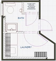 Bathroom and Laundry Plans