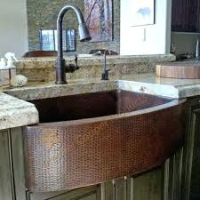 hammered copper kitchen sink reviews apron sinks exquisite