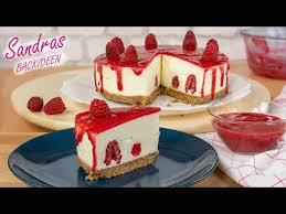 himbeer frischkäse torte kühlschranktorte ohne backen raspberry cheesecake no bake drip cake