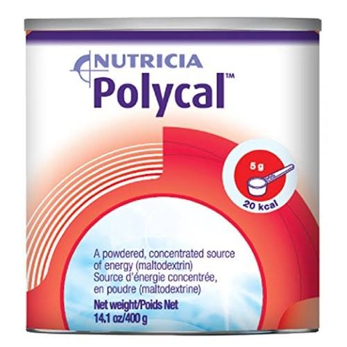 Polycal Unflavored Canister Powder Oral Supplement - 400g