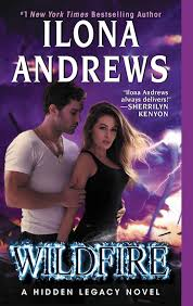 Ilona Andrews Gave Fans Of Their Hidden Legacy Series A Big Treat In 2017 With The Release White Hot Book 2 And Wildfire 3