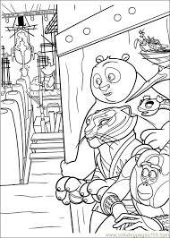 Kung Fu Panda 2 29 Coloring Page