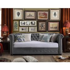 House of Hampton Bannruod Chesterfield Daybed & Reviews