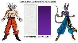 UI Mastered Goku Jiren Vs Hakaishins