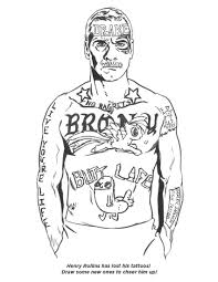 My Submission To The Draw Tattoos On Henry Rollins Post