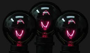 black light black light g50 7 watt replacement bulbs 25 pack