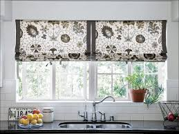 White French Country Kitchen Curtains by Kitchen Blue And Brown Curtains Small Kitchen Window Curtains