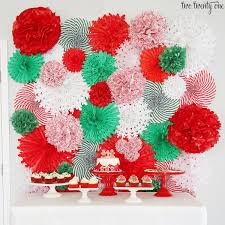 How To Make A Tissue Paper Pom And Fan Backdrop Great Step By