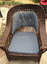 Vintage Heywood Wakefield Wicker Rocking Chair / Rocker ... Woodys Antiques Specializing In Original Heywood Wakefield Details About Heywood Wakefield Solid Maple Colonial Style Ding Side Chair 42111 W Cinn Antique Rattan Wicker Barbados Mahogany Rocking With And 50 Similar What Is Resin Allweather Fniture Childrens Rocker By 34 Vintage Chairs By Paine Rare Heywoodwakefield At 1stdibs Set Of Brace Back School American Craftsman Childs Slat Bamboo Pretzel Arm Califasia