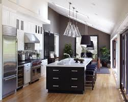 awesome kitchen island lighting for vaulted ceiling kitchen with