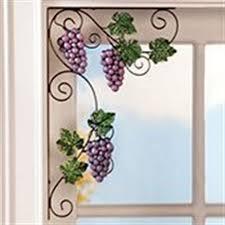 Grape Decor Kitchen Curtains by Grape Theme Kitchen Curtains Theedlos