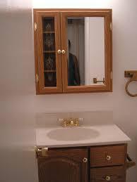 Afina Basix Medicine Cabinets by Mirror Medicine Cabinet Modern Oak Diy Pottery Barn Inspired