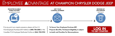 FCA Employee Discount Program | Champion Chrysler Jeep Dodge Ram Equestrian Black Friday Deals Velvet Rider Request A Test Discount Promo Code 15 Marketing Ideas To Put You Feelunique Codes 20 Off At Myvouchercodes 6pm Discount Coupon Code Www Ebay Com Electronics Earning Free Books Help Center Intertional Asos December 2019 7 For All Mankind 2018 Usave Car Rental Ewatches 10 Shoes 6pmcom Promo Off Levinfniturecom