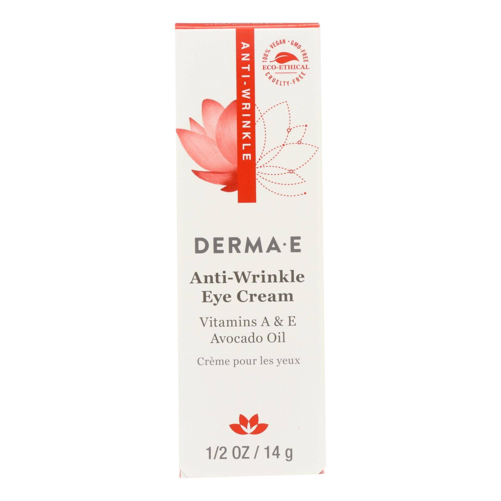 Derma E Anti-Wrinkle Vitamin A Eye Creme - 14g