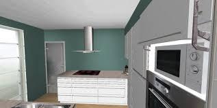 offene küche in u form mit sichtschutz neubau küchen forum