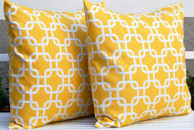 Inspiration Ideas Decor Throw Pillows With Yellow Pillow Covers Accent By