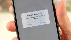 What to delete when your phone runs out of storage space