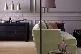 einrichten mit farbe wohnraum in edlem flieder grau bild