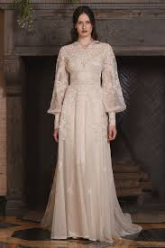 Claire Pettibone Vintage Wedding Dress For Fall 2017