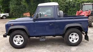 100 Defender Truck Land Rover 90 Cab YouTube