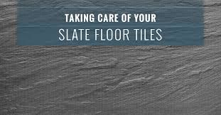 Slate Floor Tiles Can Be A Gorgeous Addition To Home Or Office Their Natural Texture And Coloring Add Warmth Your Space Without Overpowering It