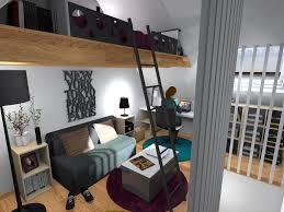 comment cr馥r une chambre dans un salon création d une chambre avec mezzanine