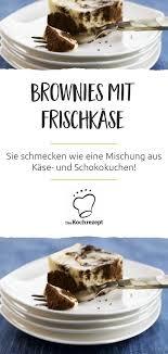 brownies mit frischkäse
