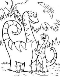 Dinosaurs Interesting And Strong Coloring Pages For Kids Printable