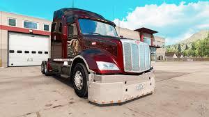 Bumper For A Peterbilt 579 Tractor For American Truck Simulator