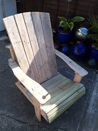 Pallet Adirondack Chair Plans by Standard Pallet Adirondack Chair Made Using Jigsaw U2022 1001 Pallets