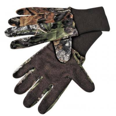 Mossy Oak Mesh Gloves with Palm Grip S/M